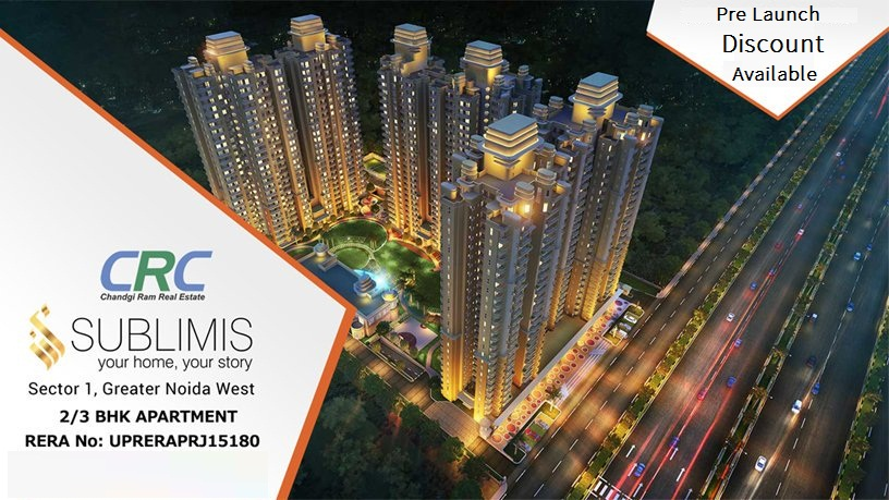 CRC Sublimis Noida Extension Banner