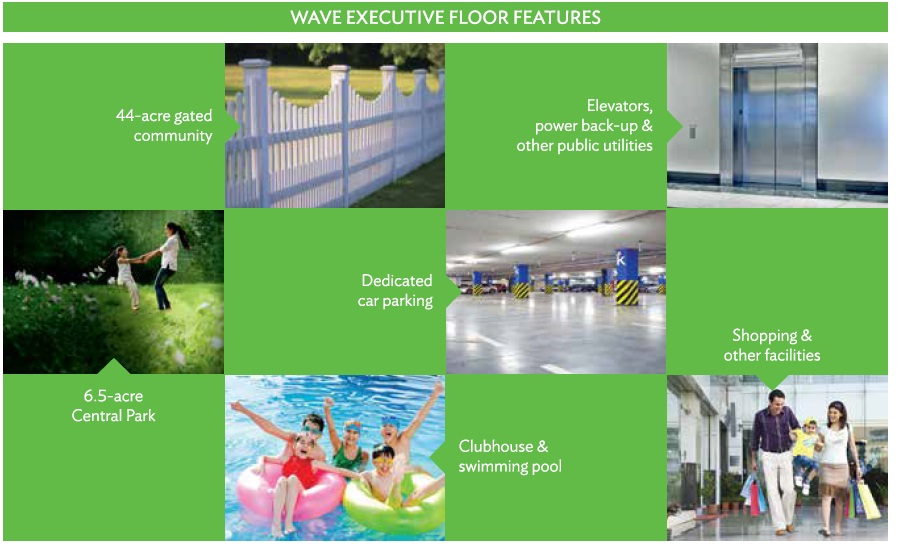 Wave Executive Floor Features